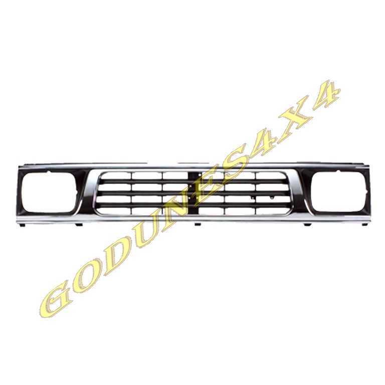 Mitsubishi l200 pick-up 92-Calandre Chrome /& Noir