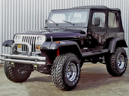 kit elargisseurs d 39 ailes pour jeep wrangler yj de 87 95 largeur 19 cm pi ces 4x4 et. Black Bedroom Furniture Sets. Home Design Ideas